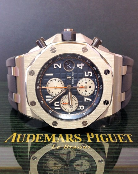 Audemars Piguet replica Royal Oak Offshore 26470ST Navy-1