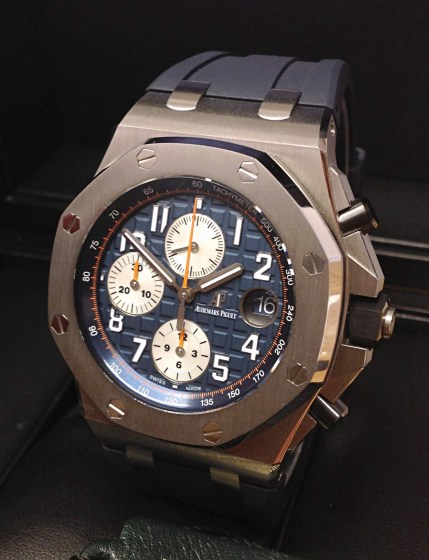 Audemars Piguet replica Royal Oak Offshore 26470ST Navy-3