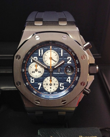 Audemars Piguet replica Royal Oak Offshore 26470ST Navy-4