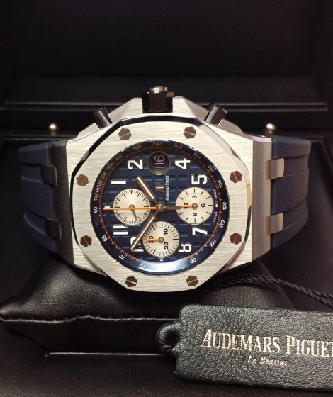 Audemars Piguet replica Royal Oak Offshore 26470ST Navy-5