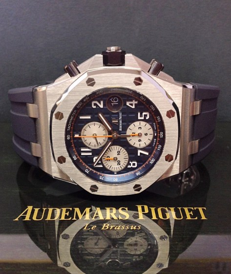 Audemars Piguet replica Royal Oak Offshore 26470ST Navy-6