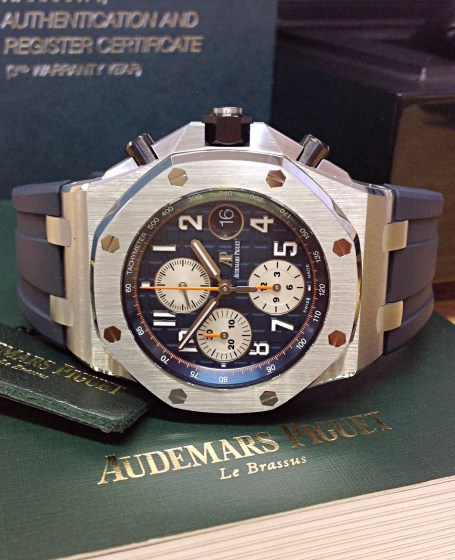 Audemars Piguet replica Royal Oak Offshore 26470ST Navy-8