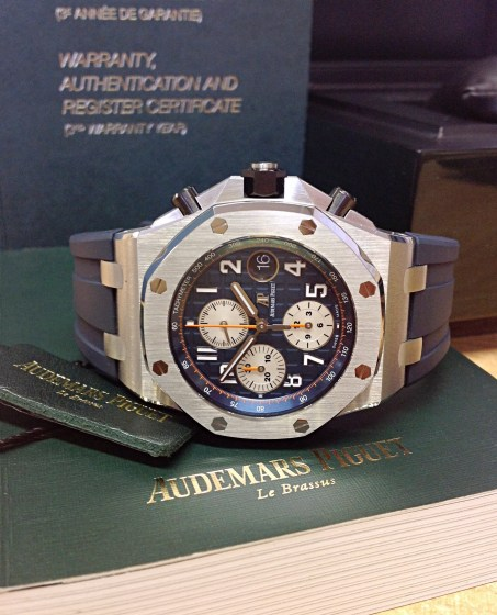 Audemars Piguet replica Royal Oak Offshore 26470ST Navy-9