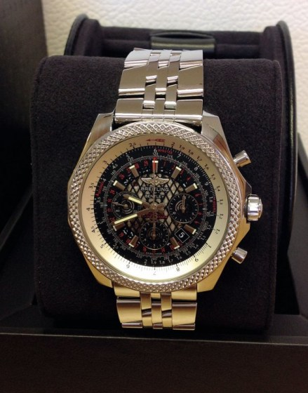 Breitling for Bentley B06 AB0611 Royal Ebony Dial3