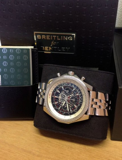 Breitling for Bentley B06 AB0611 Royal Ebony Dial5