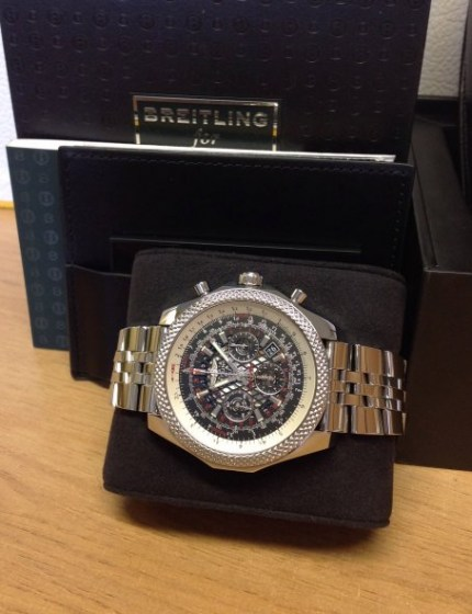 Breitling for Bentley B06 AB0611 Royal Ebony Dial7