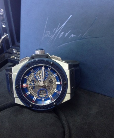 Hublot replica King Power Special One701.NQ.0137.GR.SPO14 orologio copia6