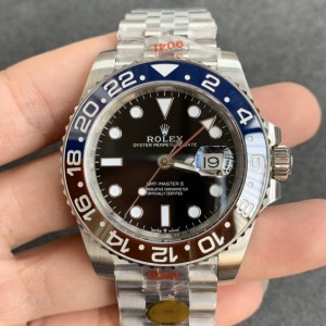 REPLICA ROLEX GMT-MASTER II 126710 BLUERED CERAMIC WATCH FROM NOOB FACTORY-1