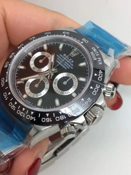 ROLEX DAYTONA REPLICA CERAMICHON WATCHES IN 2018 WITH 4130 FULLY CHRONOGRAPH MOVEMENT BLACK DIAL3