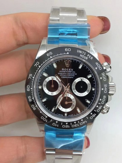 ROLEX DAYTONA REPLICA CERAMICHON WATCHES IN 2018 WITH 4130 FULLY CHRONOGRAPH MOVEMENT BLACK DIAL