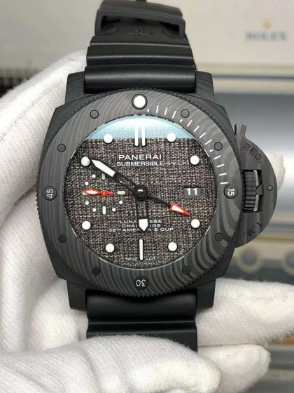 Replica Panerai PAM 1039 Submersible Luna Rossa GMT with Clone P.9011-2