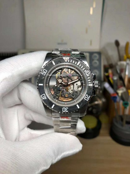 Replica Rolex Submariner Andrea Pirlo Project with Asia 3130 Movement-1