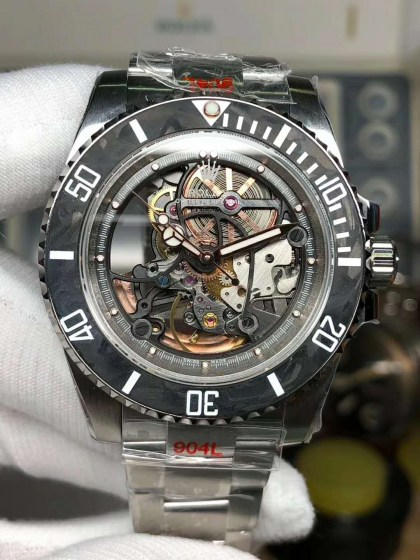 Replica Rolex Submariner Andrea Pirlo Project with Asia 3130 Movement-2