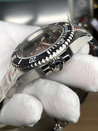 Replica Rolex Submariner Andrea Pirlo Project with Asia 3130 Movement-5