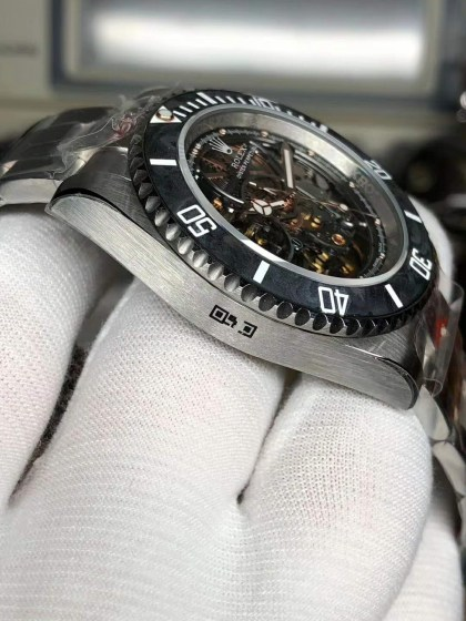 Replica Rolex Submariner Andrea Pirlo Project with Asia 3130 Movement-6