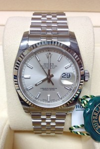 Rolex replica Datejust 116234 36mm Silver Baton7