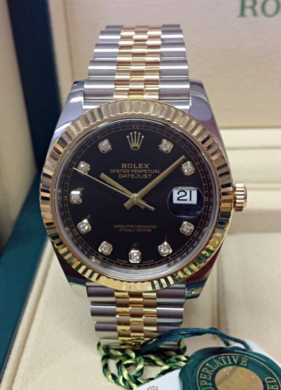 Rolex replica Datejust 41mm 126333 Bi-Colour-1