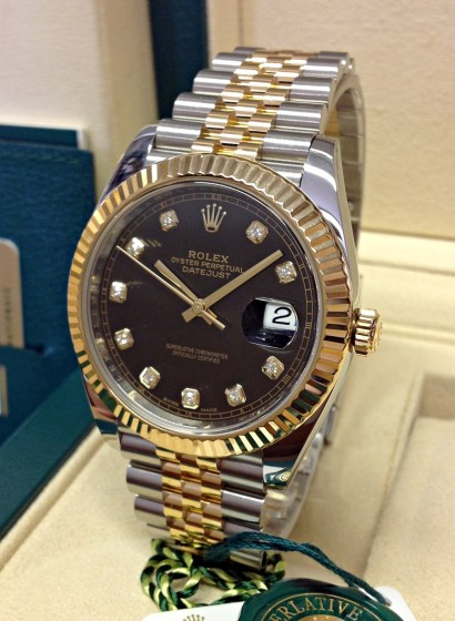 Rolex replica Datejust 41mm 126333 Bi-Colour-2