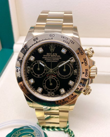 Rolex replica Daytona 116508 Yellow Gold-2