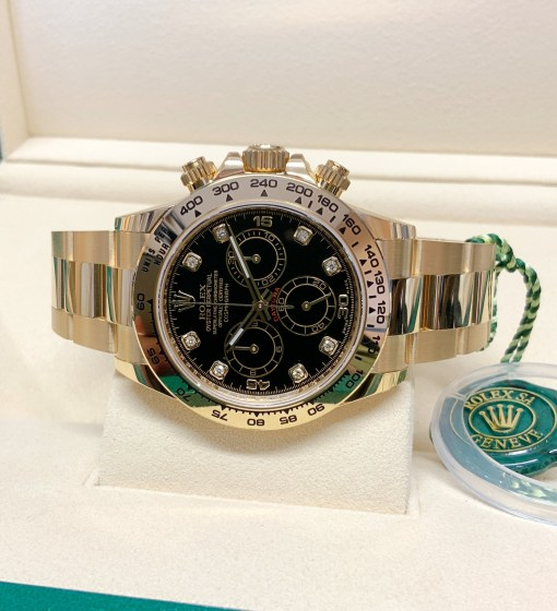 Rolex replica Daytona 116508 Yellow Gold-3