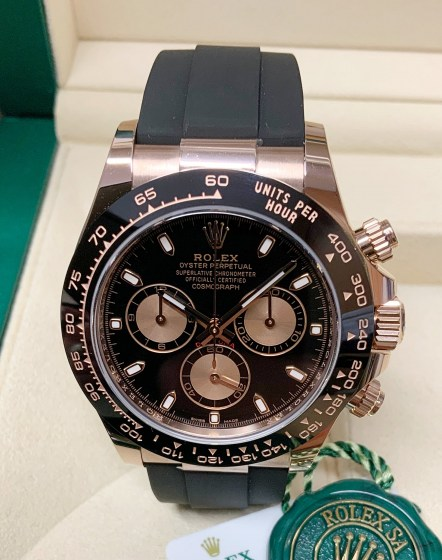 Rolex replica Daytona 116515LN Rose Gold-2