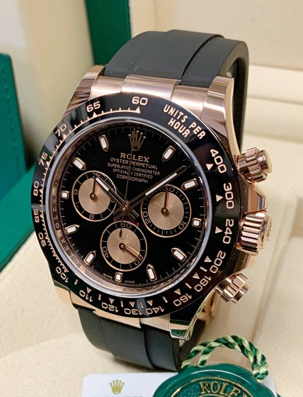 Rolex replica Daytona 116515LN Rose Gold-4