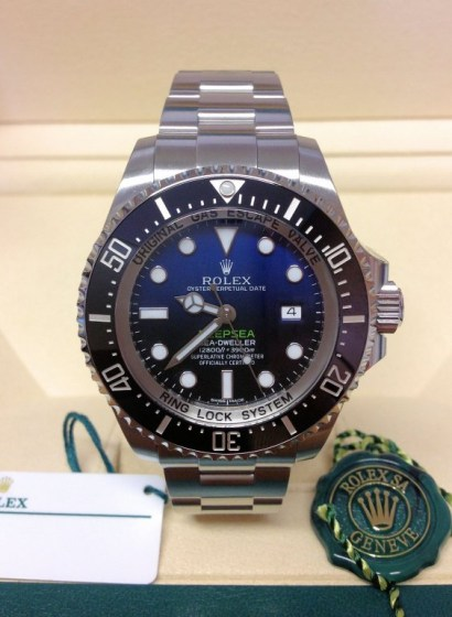 Rolex replica Deepsea Sea-Dweller D-Blue 116660