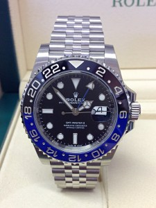 Rolex replica GMT Master II 126710BLNR Batman-3