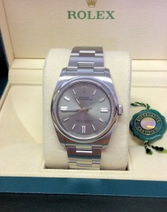 Rolex replica Oyster Perpetual 116000 36mm Steel Dial