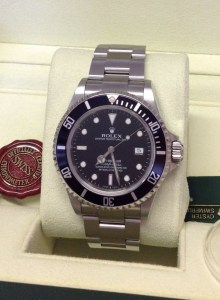 Rolex replica Sea Dweller 16600 Black Dial-5
