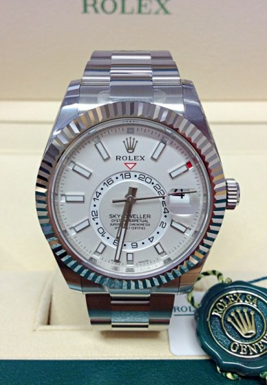 Rolex replica Sky-Dweller 326934 Stainless Steel2