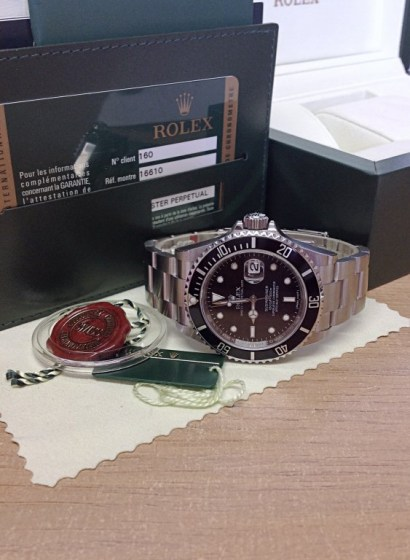 Rolex replica Submariner Date 16610LN New Old Stock4