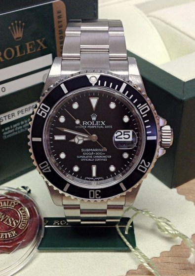 Rolex replica Submariner Date 16610LN New Old Stock
