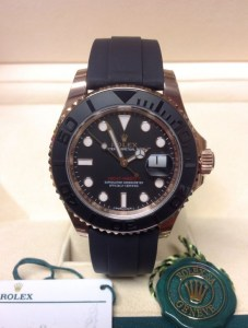 Rolex replica Yacht-Master 40 116655 Rose Gold