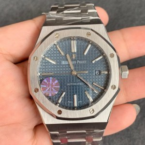 audemars piguet replica 15400 royal oak jumbo blue dial