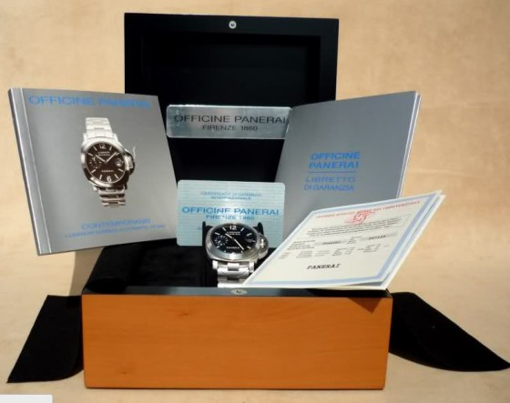 panerai scatola box replica