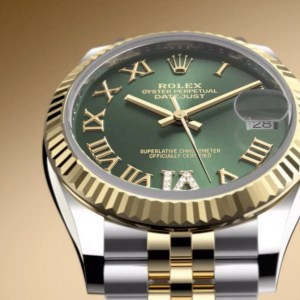rolex replica datejust 31mm acc oro verde oliva274