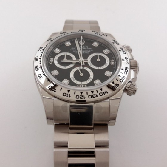 rolex replica daytona 116509 oro bianco black diamond-3