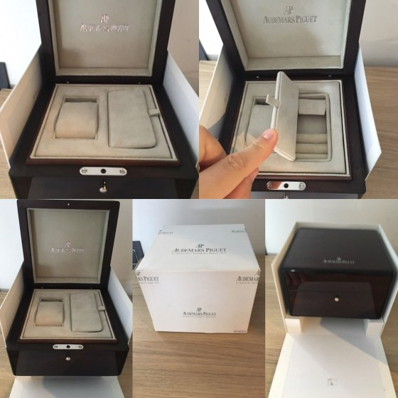scatola box cofanetto audemars piguet replica